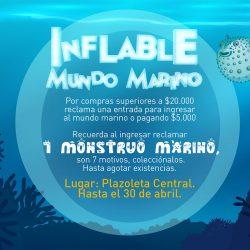 Inflable Mundo Marino