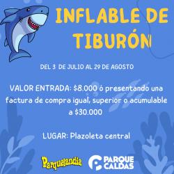 Inflable Tiburón